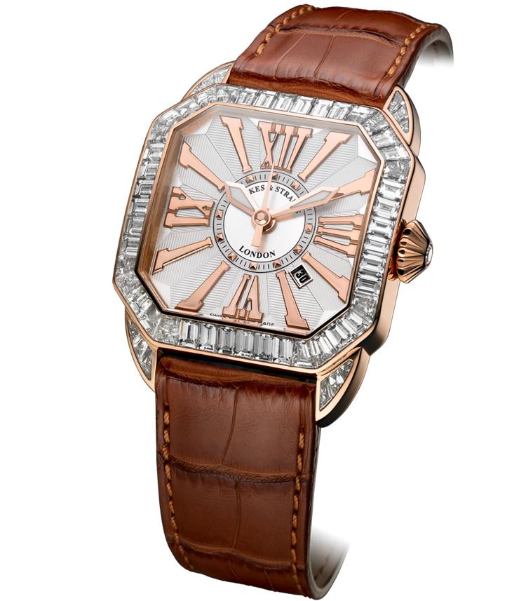 Berkeley Baguette 40 Dint diamond watch
