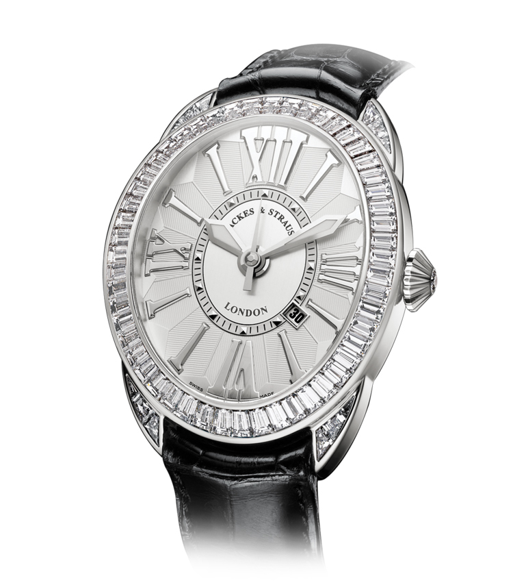 Regent Baguette 4047 diamond watch