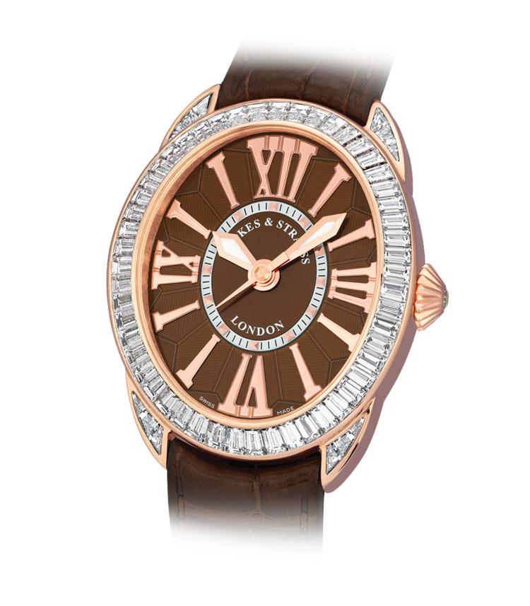 Regent Baguette 4452 iconic diamond watch