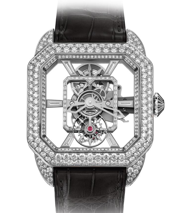 Berkeley Emperor Brilliant Tourbillon 45 diamond watch