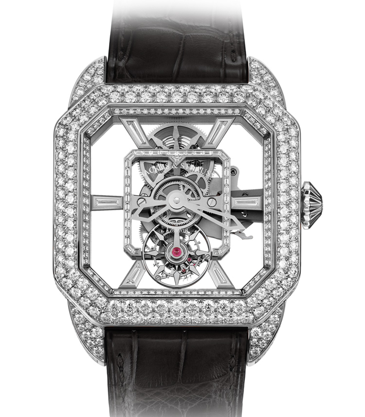 Berkeley Royal Brilliant Tourbillon luxury diamond set case watch