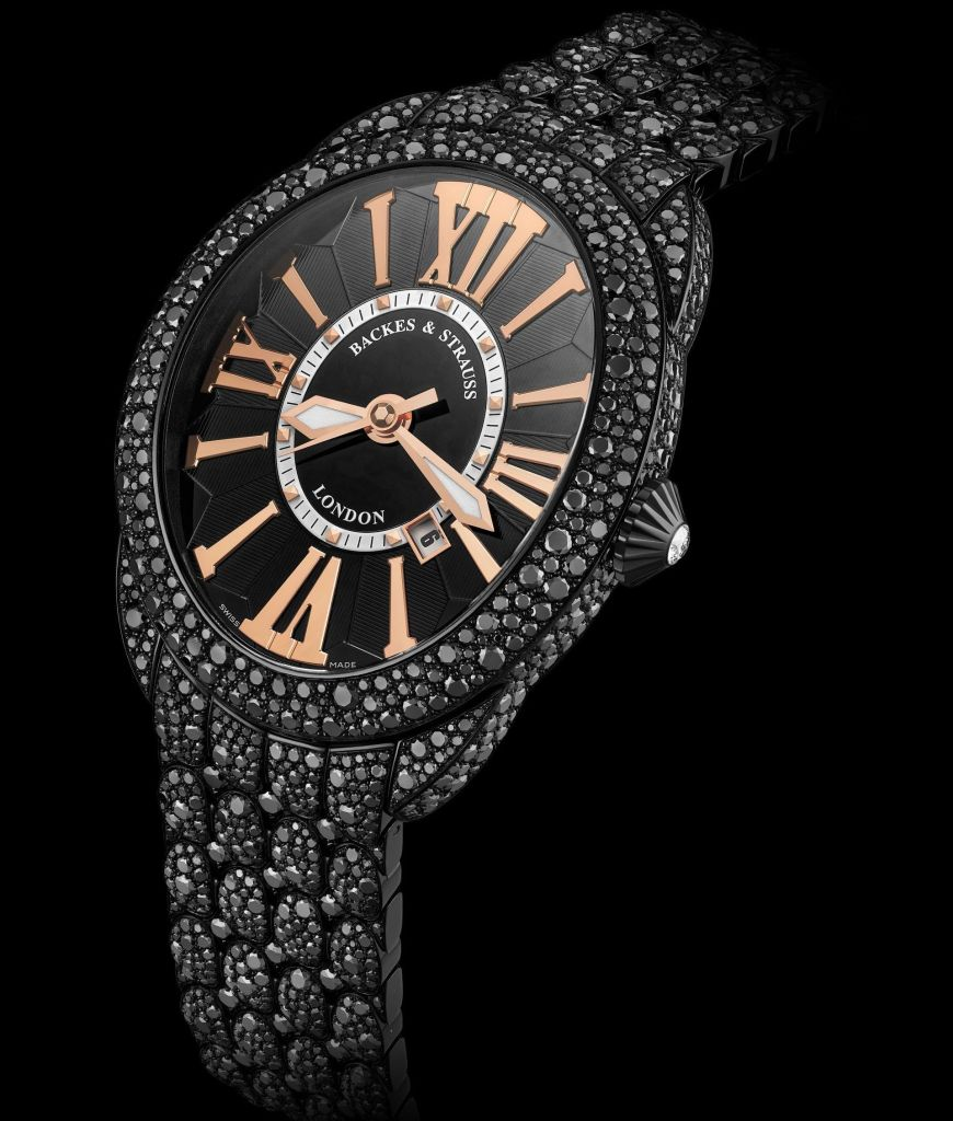 Regent Royal Black Knight diamond watch