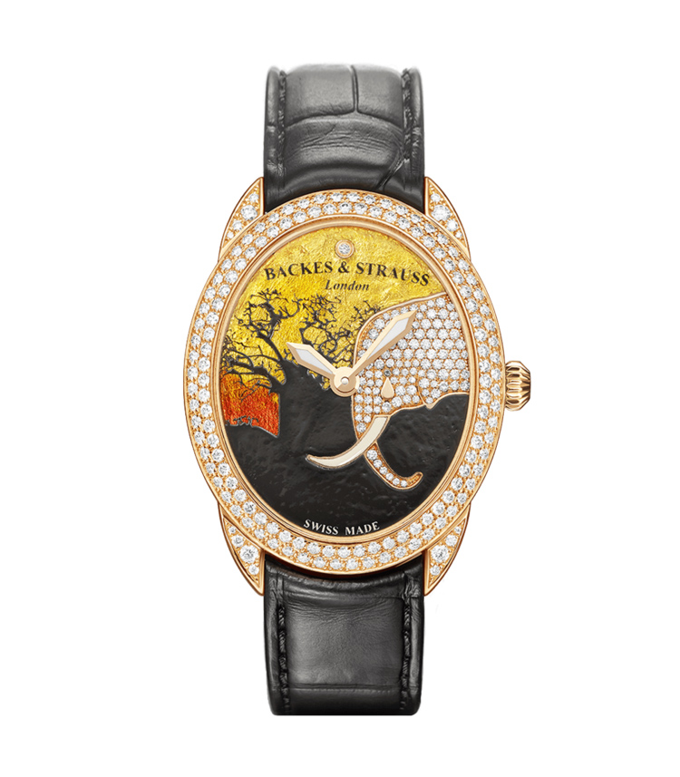 Tears of the African Elephant 3238 diamond watch