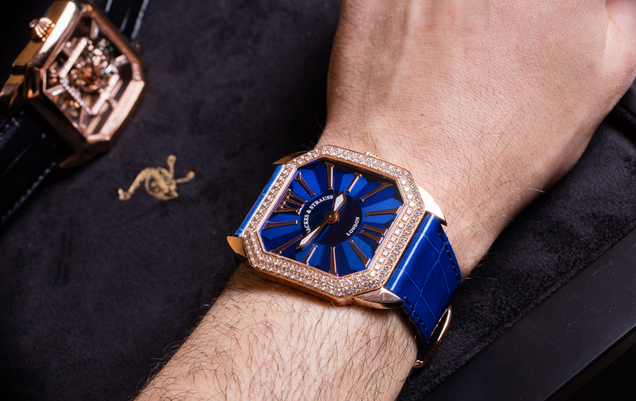 Berkeley Renaissance diamond watch
