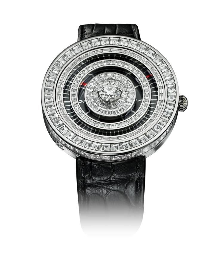 Royal Jester 36 diamond encrusted watch