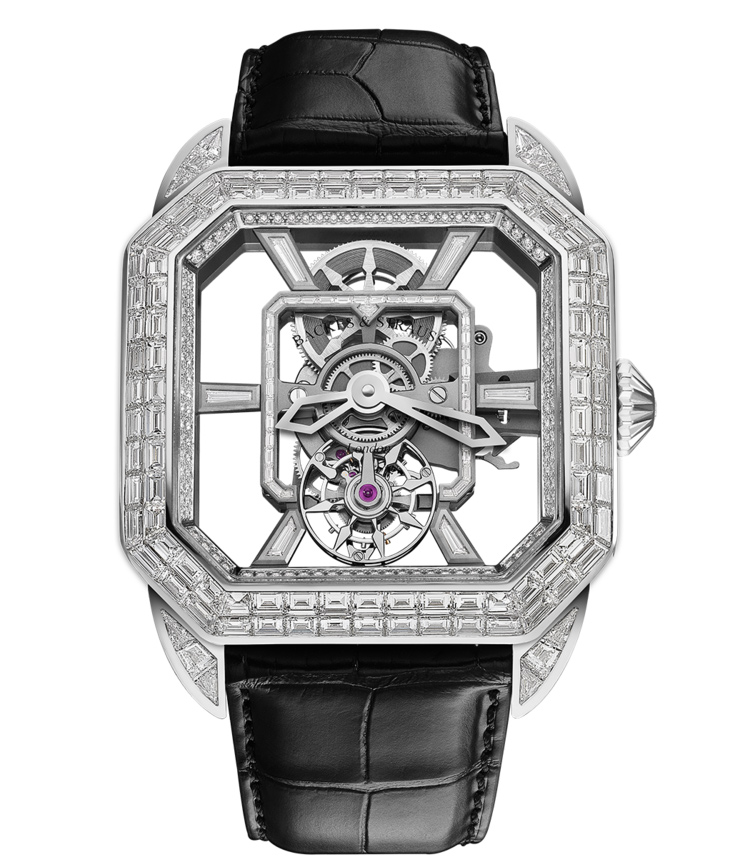 Berkeley Emperor Prince Tourbillon diamond watch