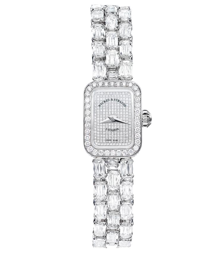 Royal Ashoka Pave diamond encrusted watch