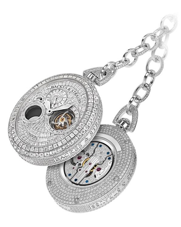 Regent Beau Brummell Tourbillon luxury pocket watch for him and her
