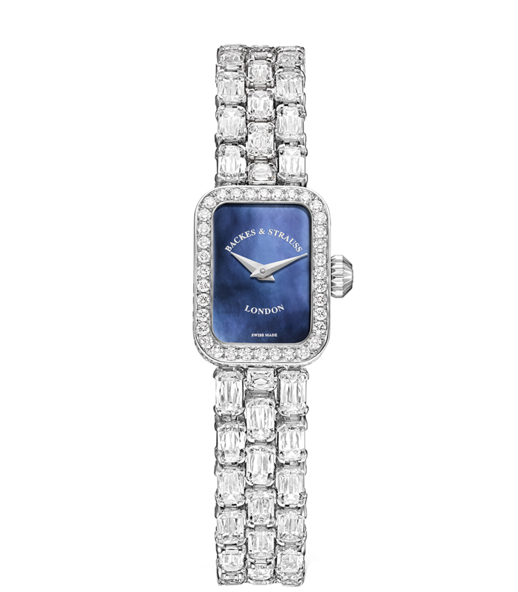 Royal Ashoka luxury diamond watch for her