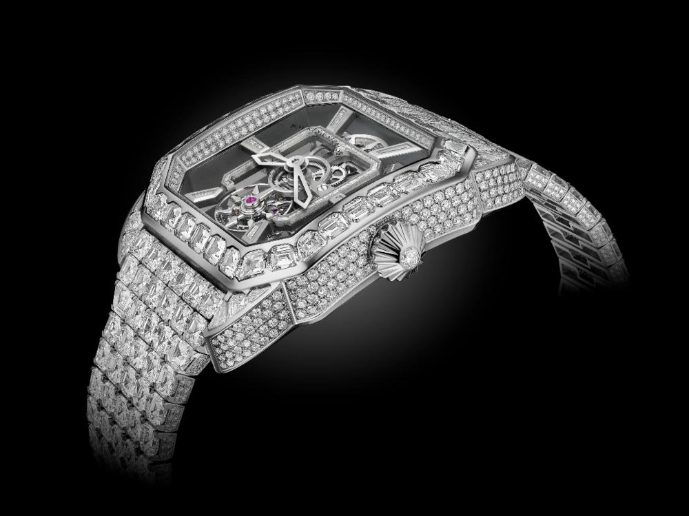 Royal Berkeley emperor tourbillon Bespoke diamond watch - Backes & Strauss