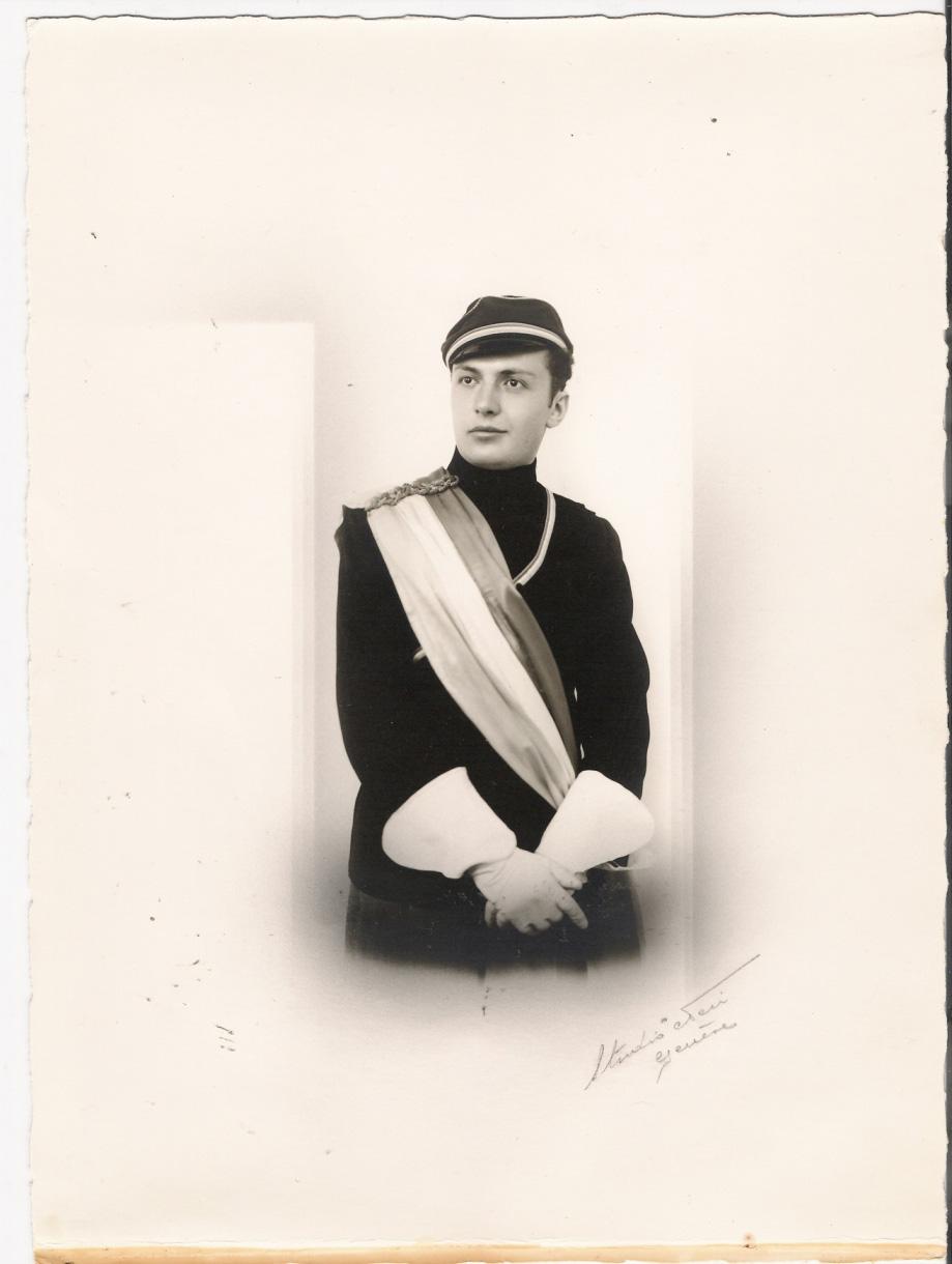 Antranig Knadjian at his graduation