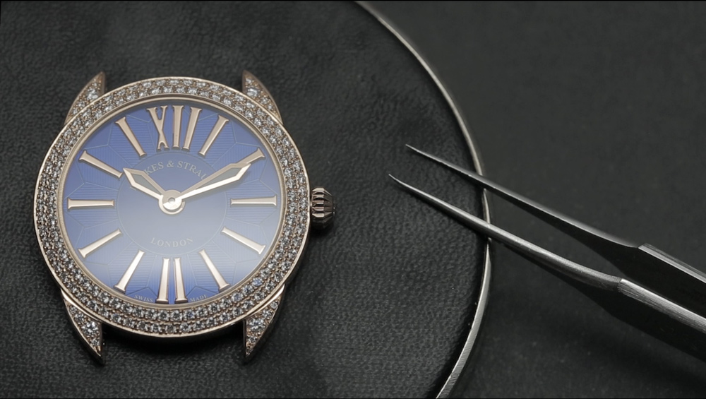 Luxury diamond watches after sales- Backes & Strauss