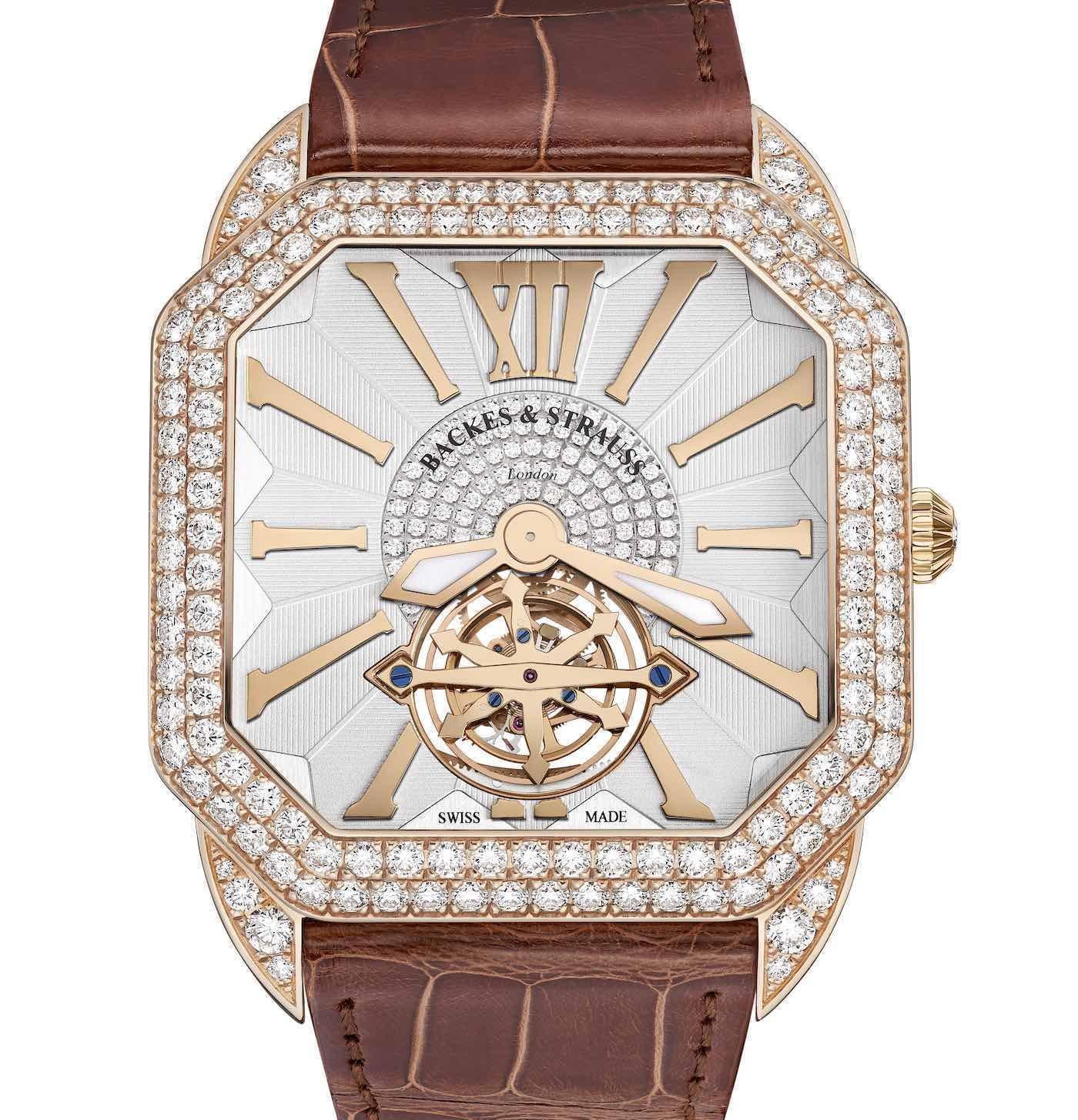 Berkeley Renaissance Duke Tourbillon D2R diamond watch
