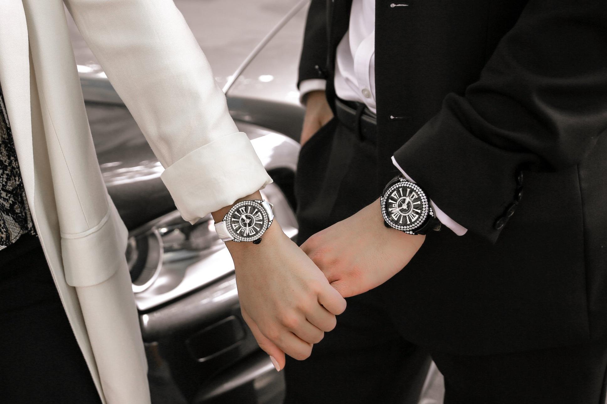 black steel watches -