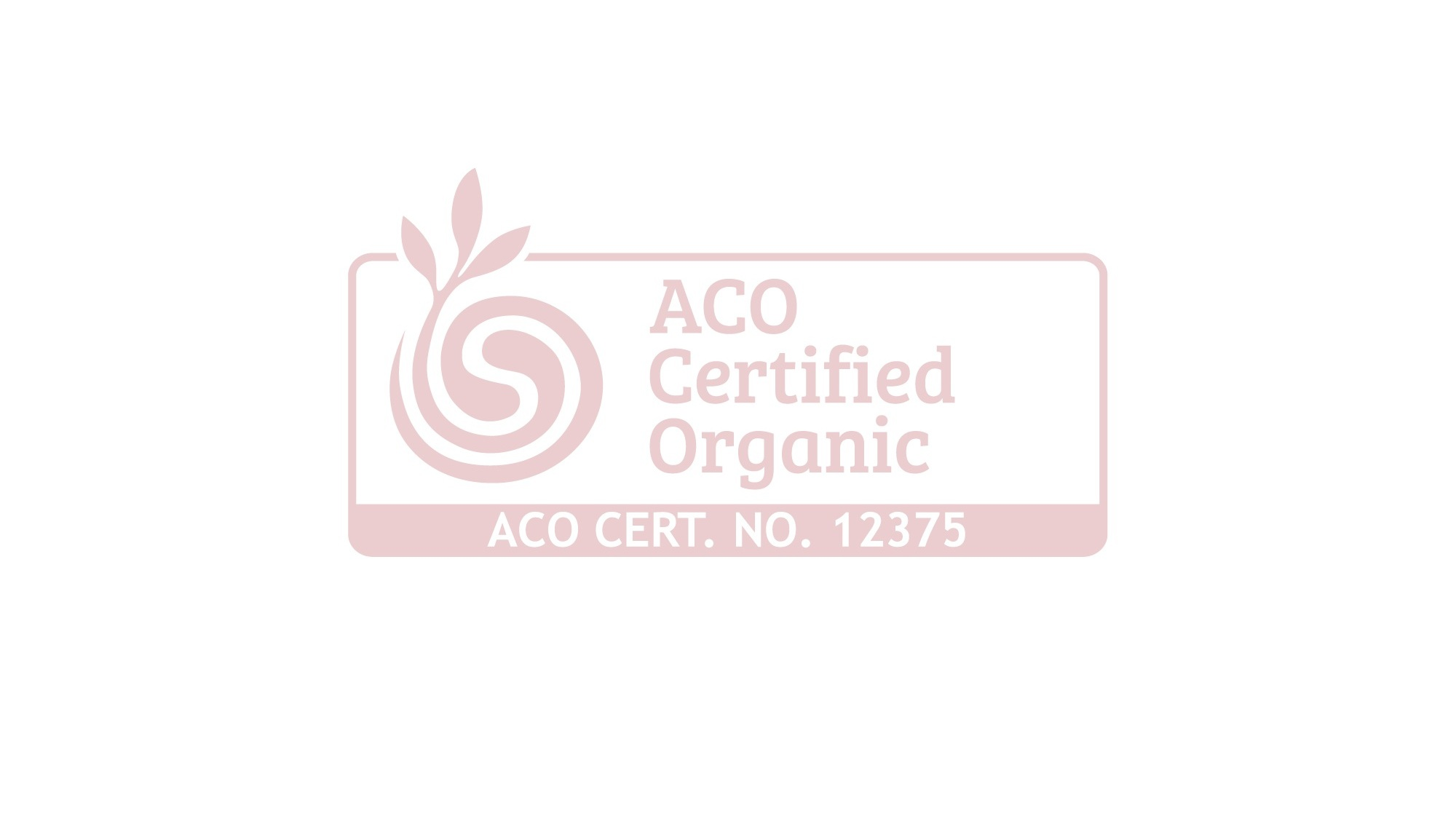- We have worked hard to make our products Certified Organic against the Australian Certified Organic Standards (ACO) so that you can trust we did our homework and that we have zero harmful chemical additives in any of our products. AHRIA Organics was created with science for the love of our family and yours.ACO CERTIFICATE: 12375