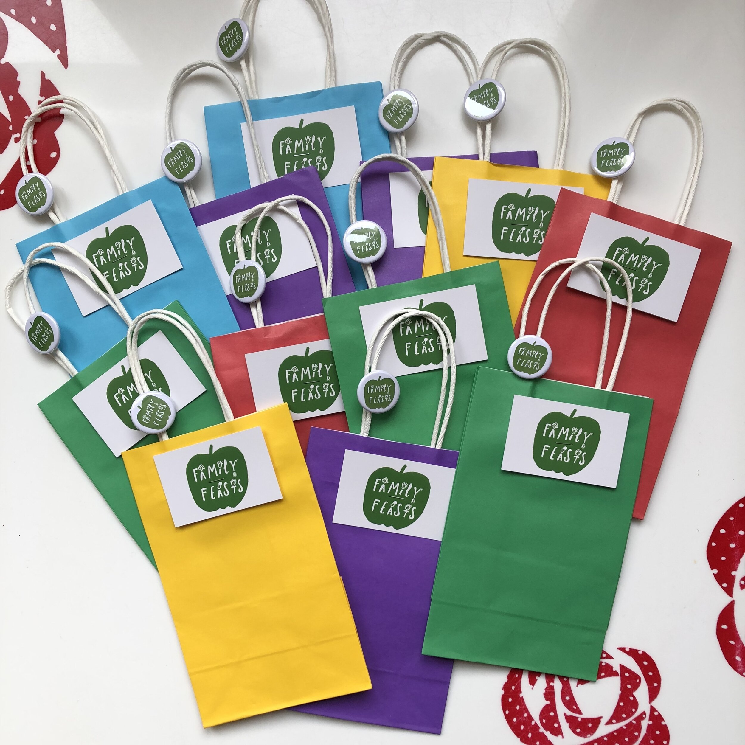 Family Feasts Party Bags