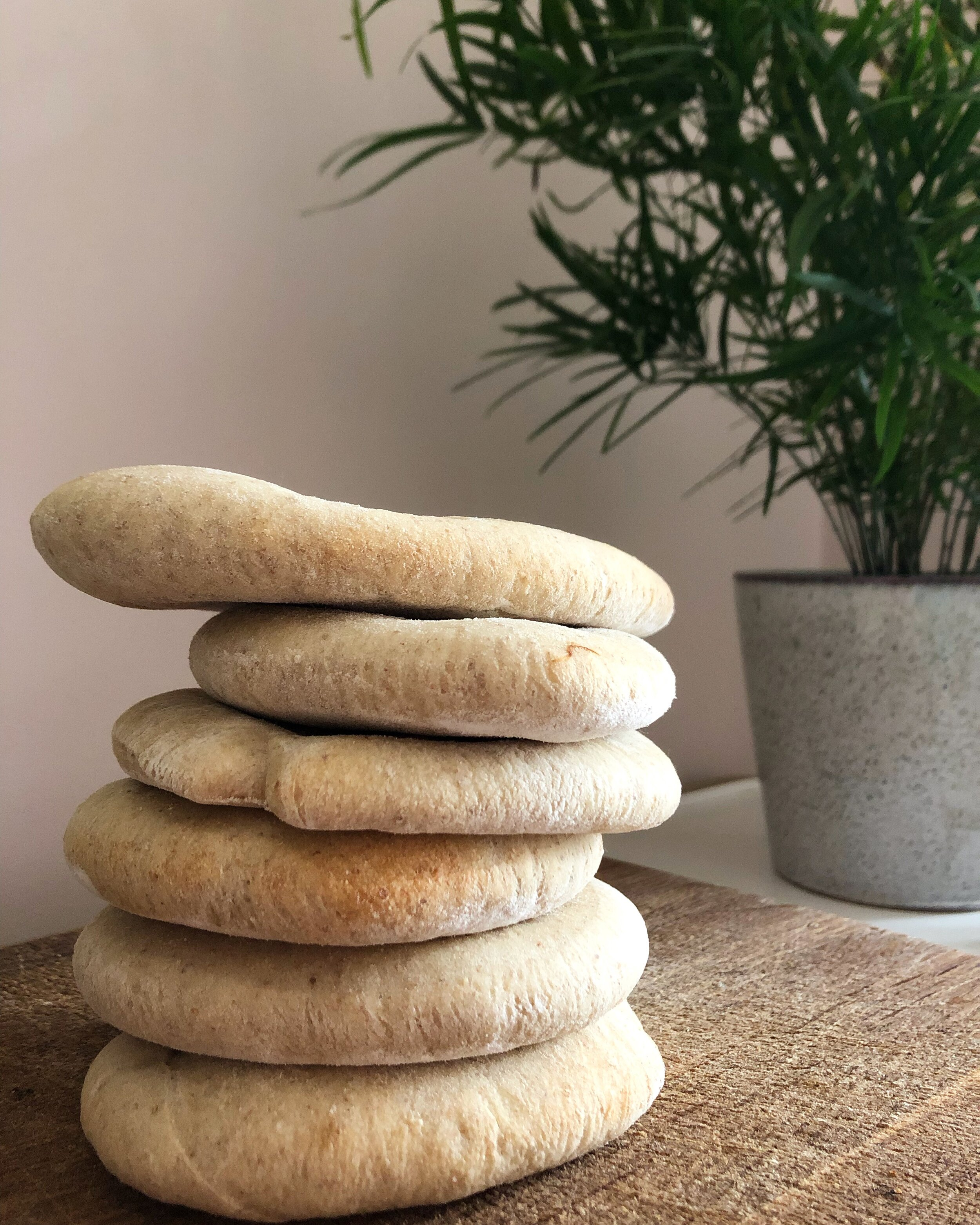 Homemade Pitta Bread