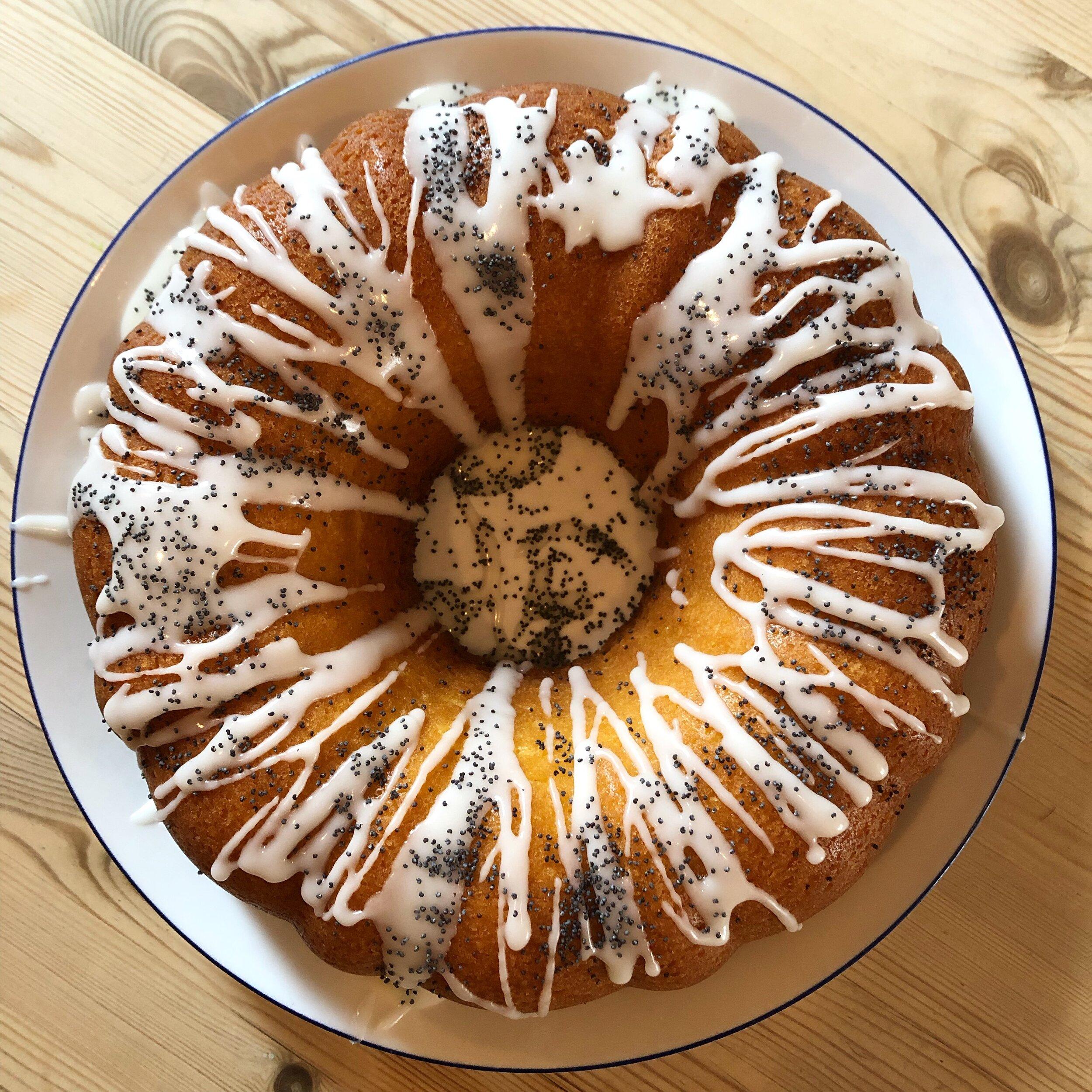 Lemon & Poppy Seed Bundt Cake