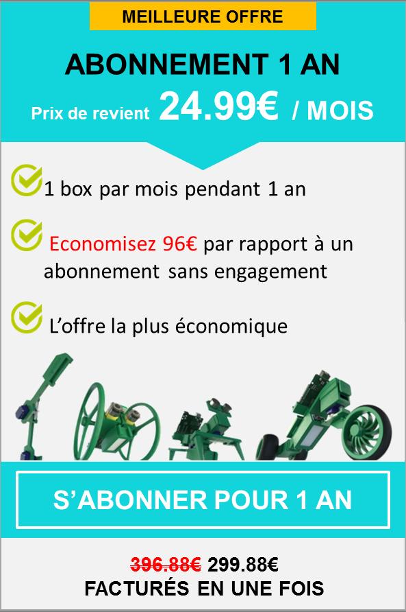 Abonnement Kit robotique engagement 12 mois