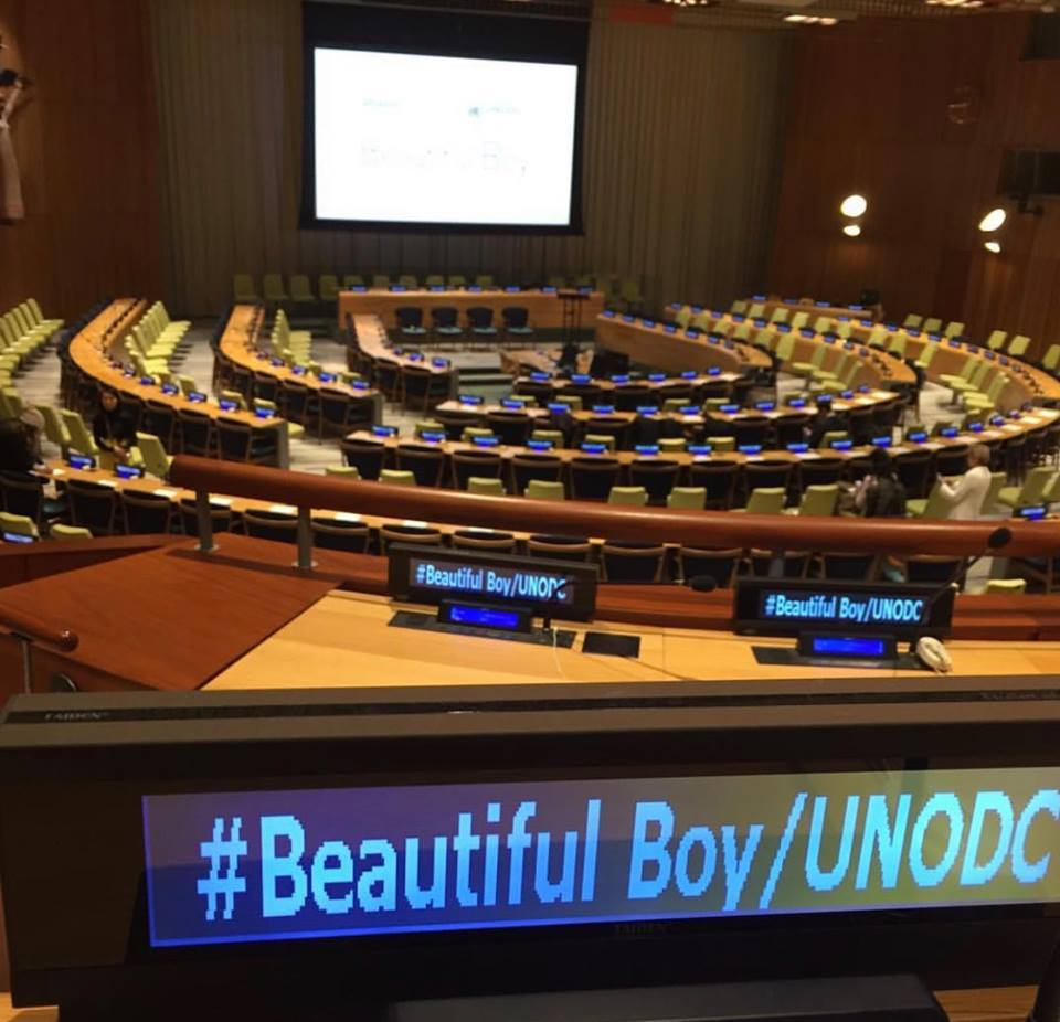 Beautiful Boy Screening by the United Nations Office of Drugs and Crime (Rain Henderson)
