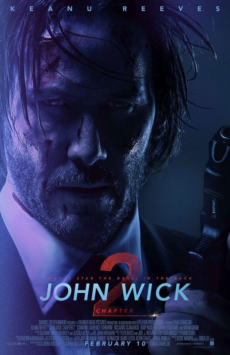 John Wick: Chapter 2 - May 10th, 2019