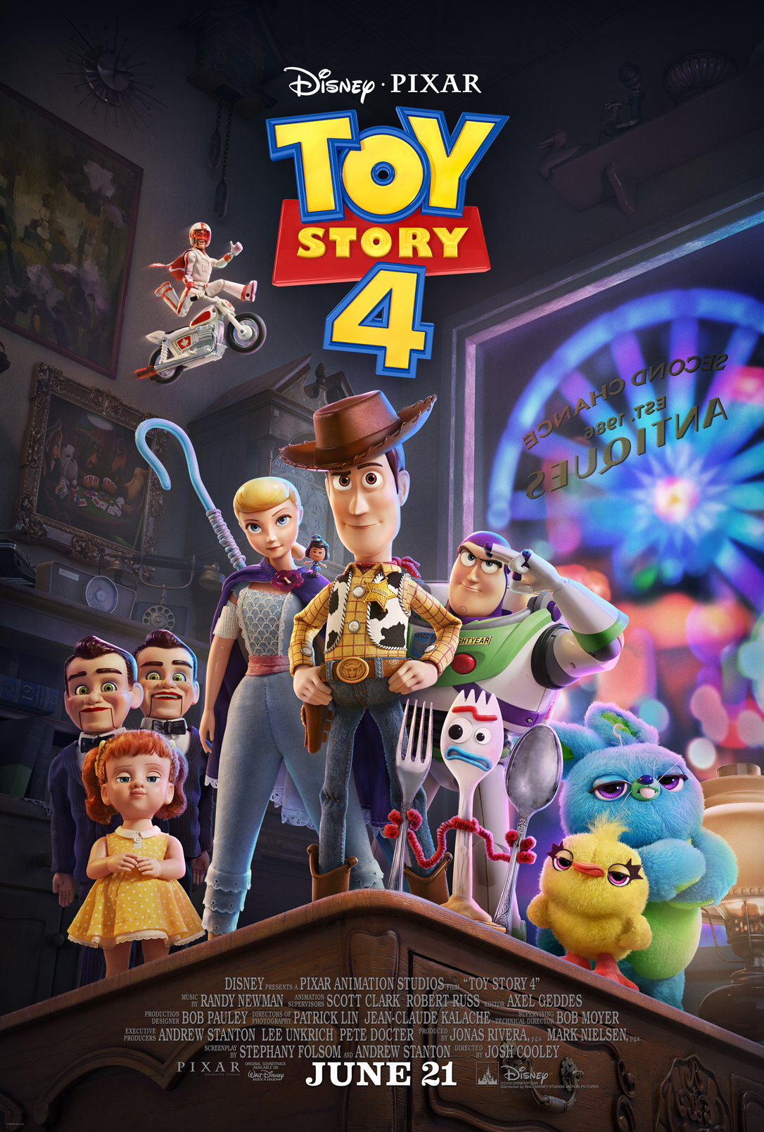 Toy Story 4 - June 20th, 2019