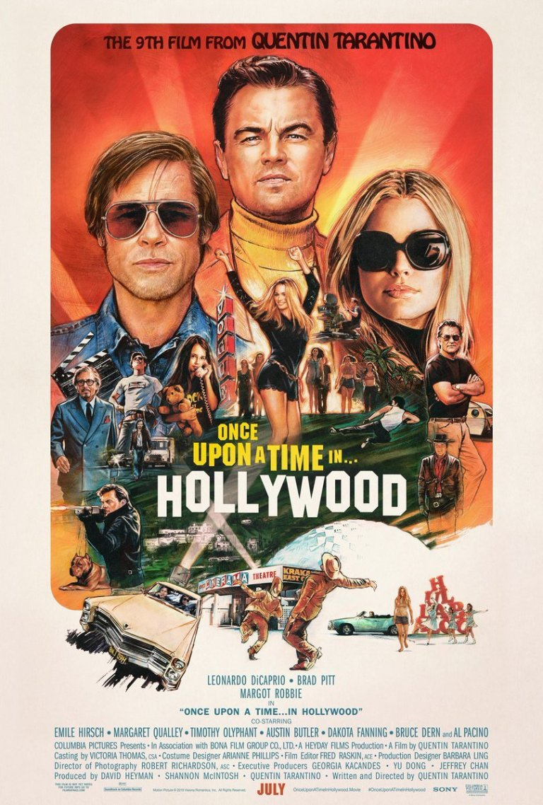 Once Upon a Time in Hollywood - July 28th, 2019