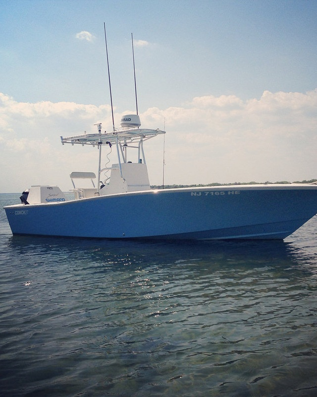 Fishing Machine - VIEW OUR CUSTOMER R&R BOATWORKS CONCH 27