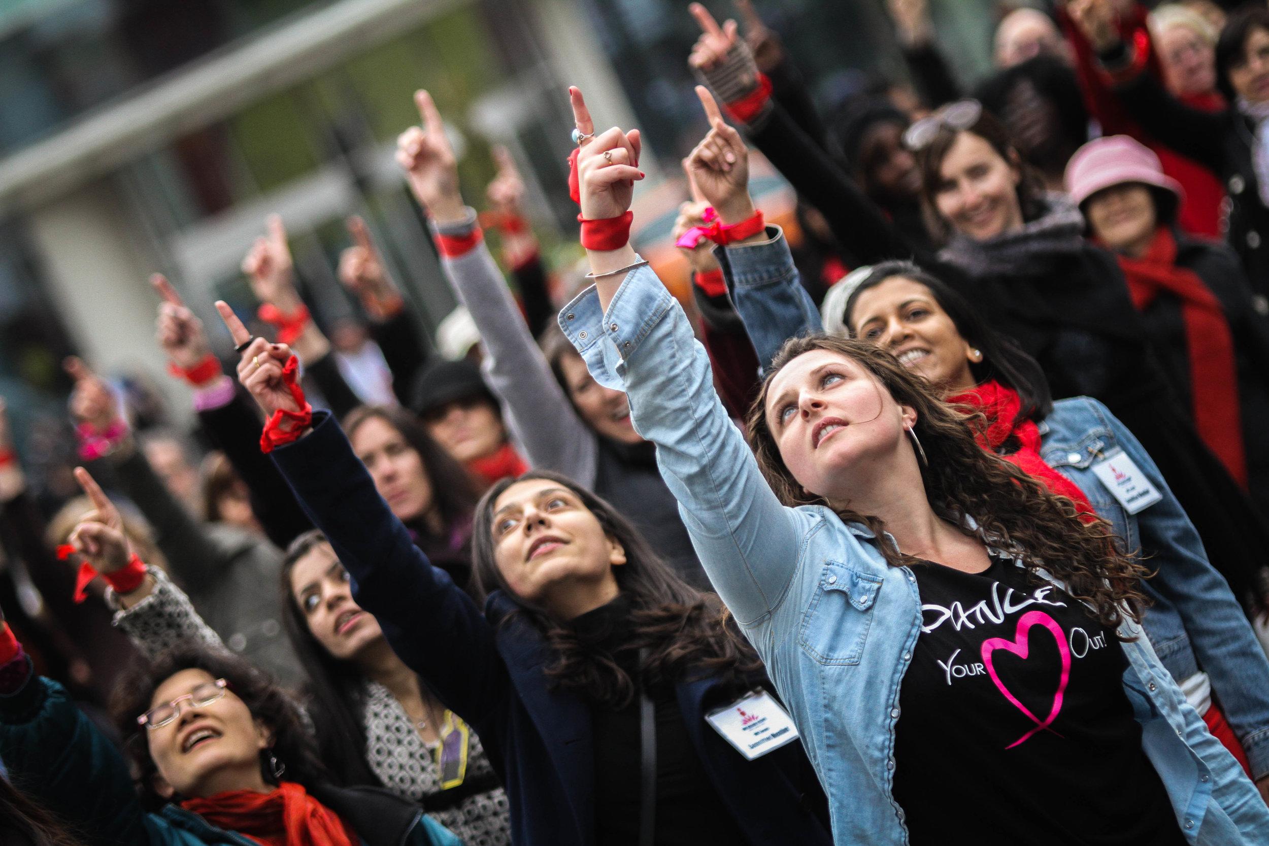 One Billion Rising - Flash Mob