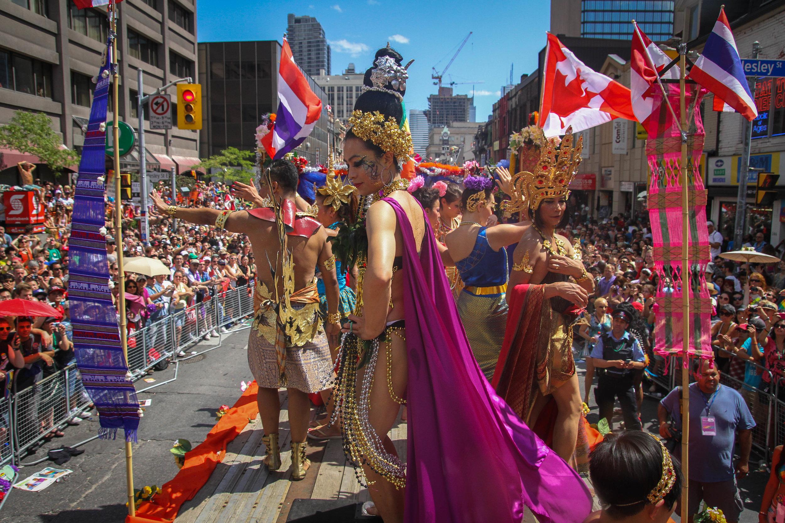 Toronto Pride Parade - Thailand Float