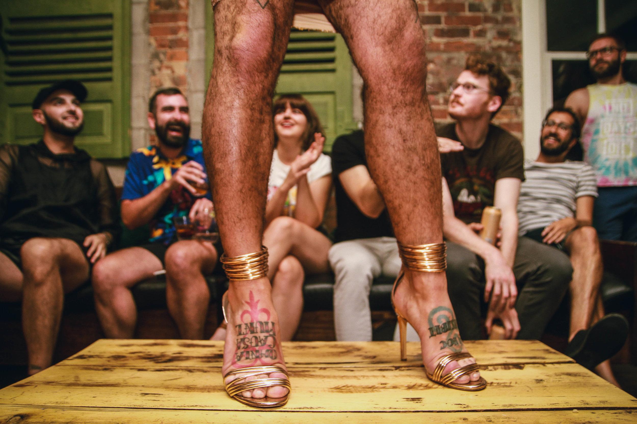 Gaybourhood Watch - Heels
