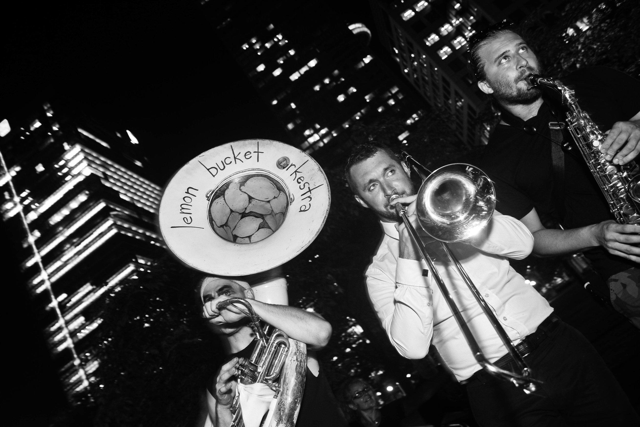 Toronto Blackout Party 2015 - Lemon Bucket Orkestra