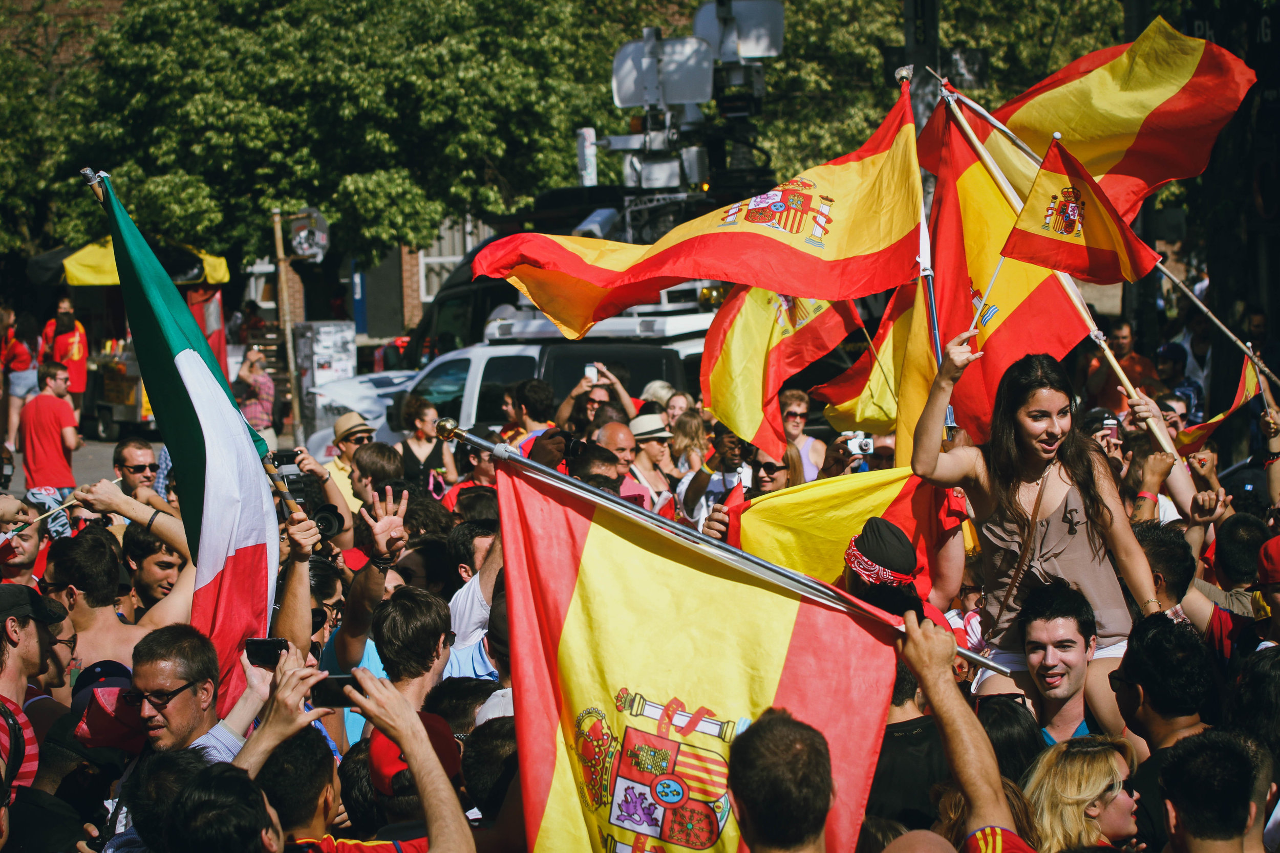 Spain Wins Euro Cup 2012
