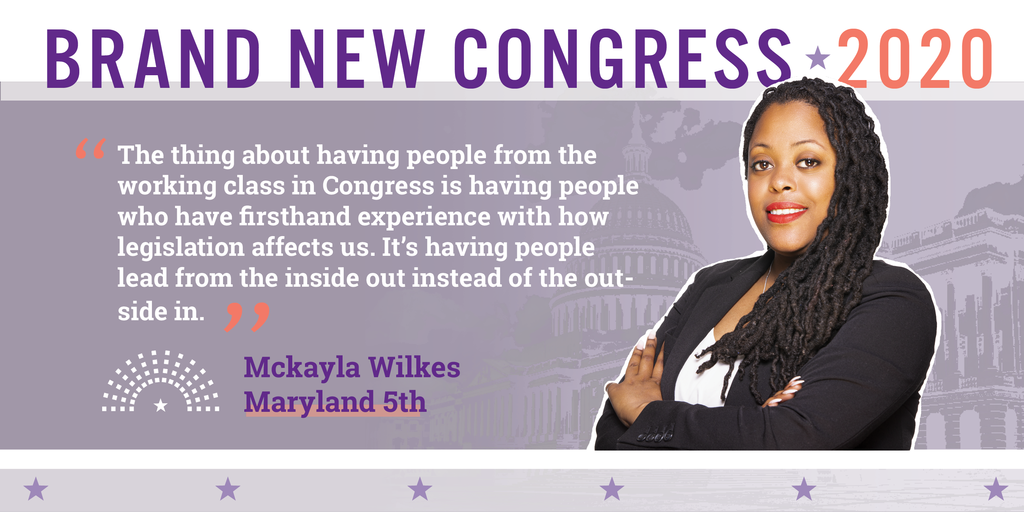 Mckayla Brand New Congress Slate