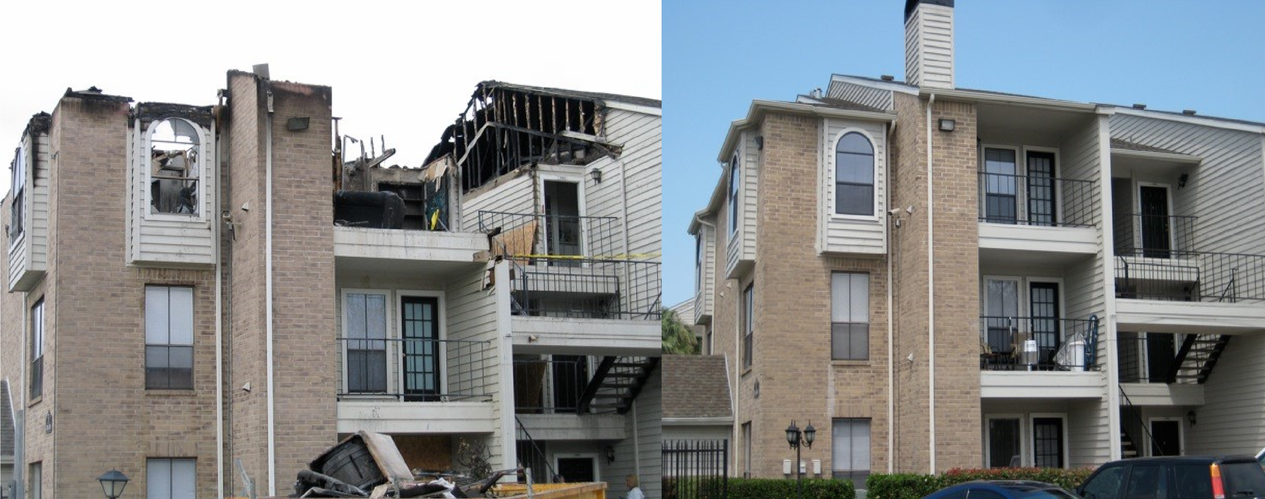 The Point at Windmill Lakes Apartments   - Houston, TX Fire Reconstruction