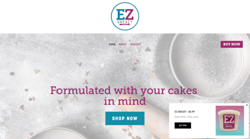 PRODUCT View:   EZ Greazy Baking
