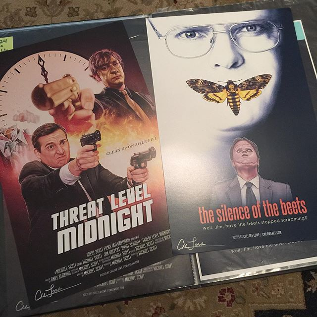 First orders for SILENCE OF THE BEETS art prints ship out on Monday! To get in on this batch, head over to cmloweart.storenvy.com 🍷 (LINK IN BIO)  11x17 and 18x24 prints are available. You can also buy one of the bundles where you get both Silence of the Beets and Threat Level Midnight for a better price. 🖤  #threatlevelmidnight #silenceofthebeets #theoffice #dwightschrute #michaelscott #jimhalpert #artprints #illustration #art #artist #artwork #digitalart #digitalpainting #posterart #posterartist