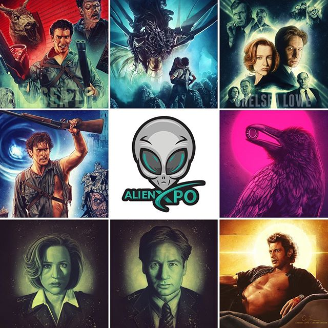 I'm on my way to Knoxville for the very first ALIEN XPO! It starts tomorrow morning. If you're attending then swing by my booth for some art! I'll have my X-Files art there, along with the rest of my portfolio. 👽🛸 #alienxpo #knoxvilletn #knoxville #thexfiles #xfiles #art #artwork #artist #digitalart #digitalpainting #illustration #aliens #thetruthisoutthere #iwanttobelieve #trustnoone