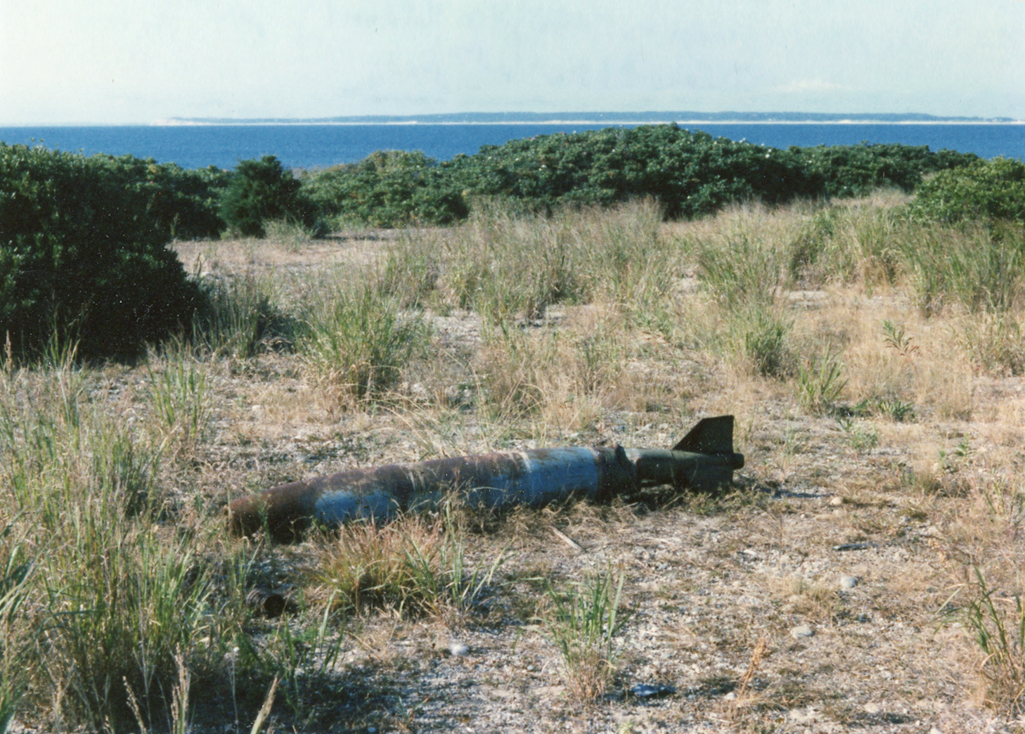 Unexploded ordinance, circa 1987