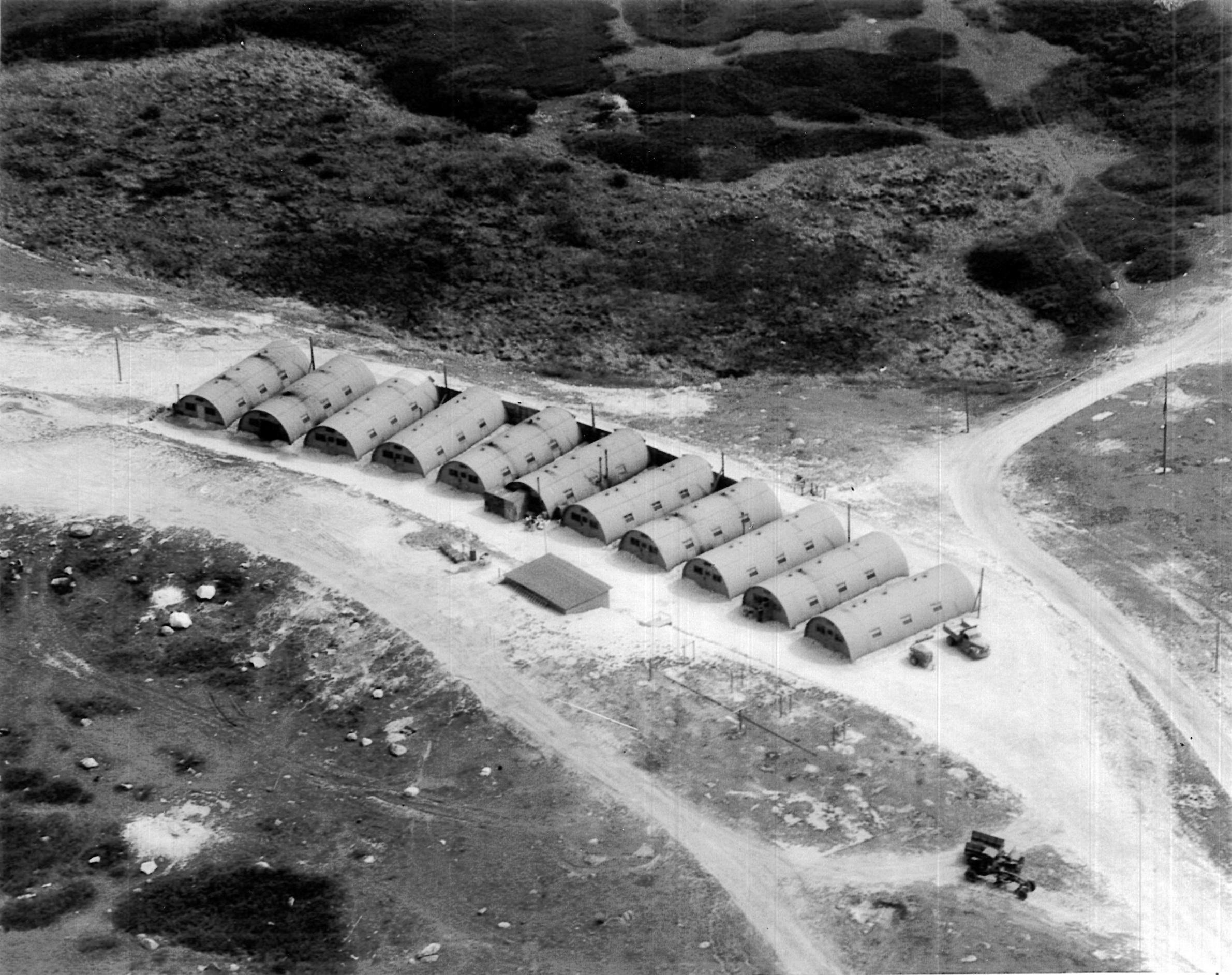 Quonset Huts US Navy