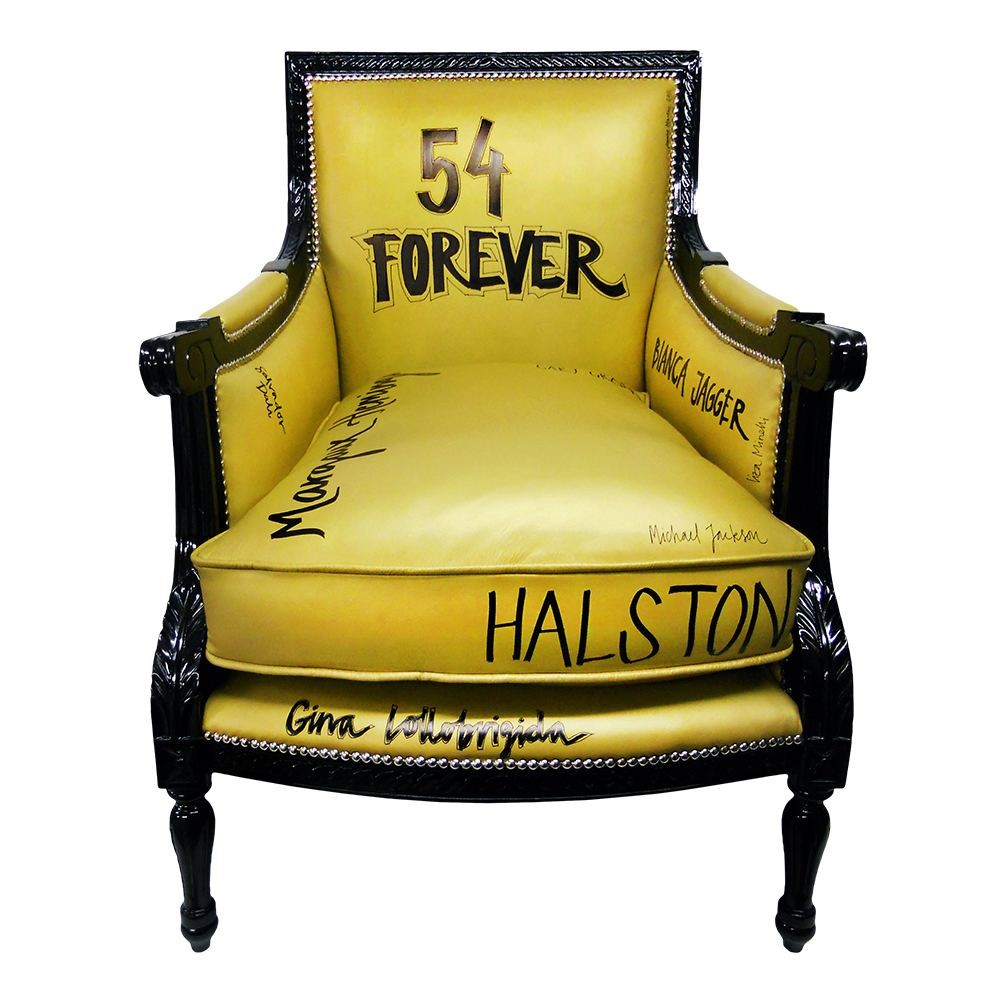 Jimmie Martin 54 Forver Armchair Gold