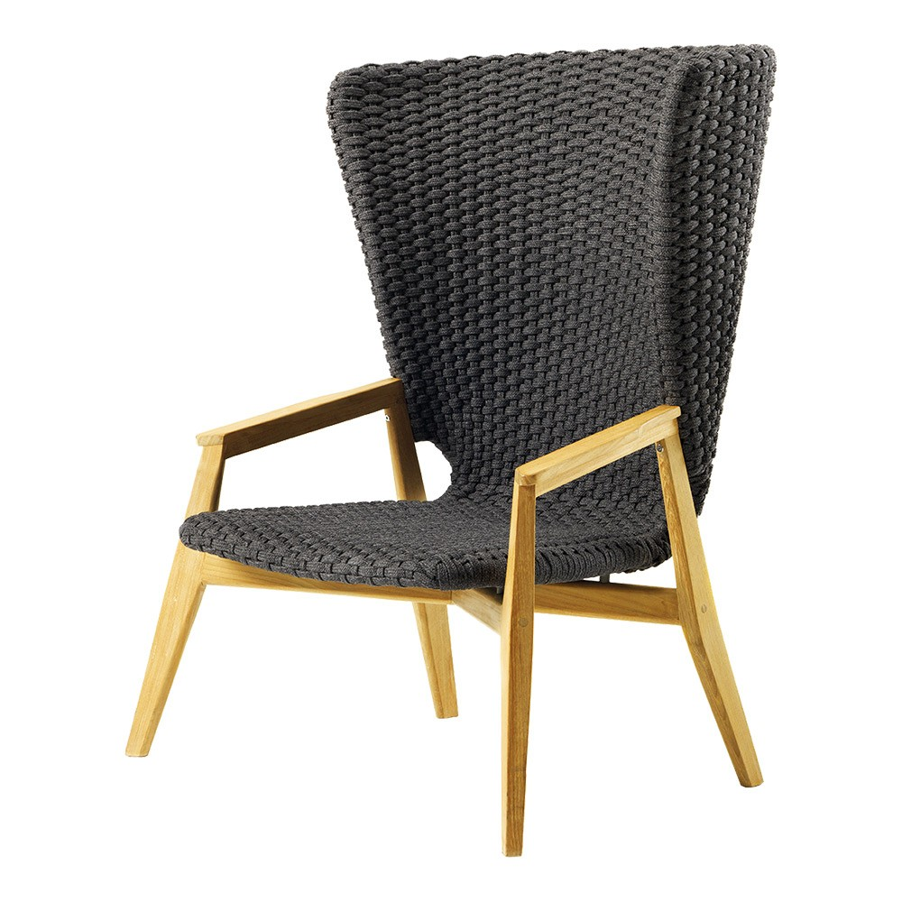 Knit Lounge High Back Armchair