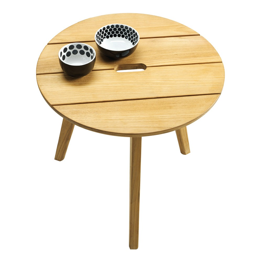 Knit Round Coffee Table