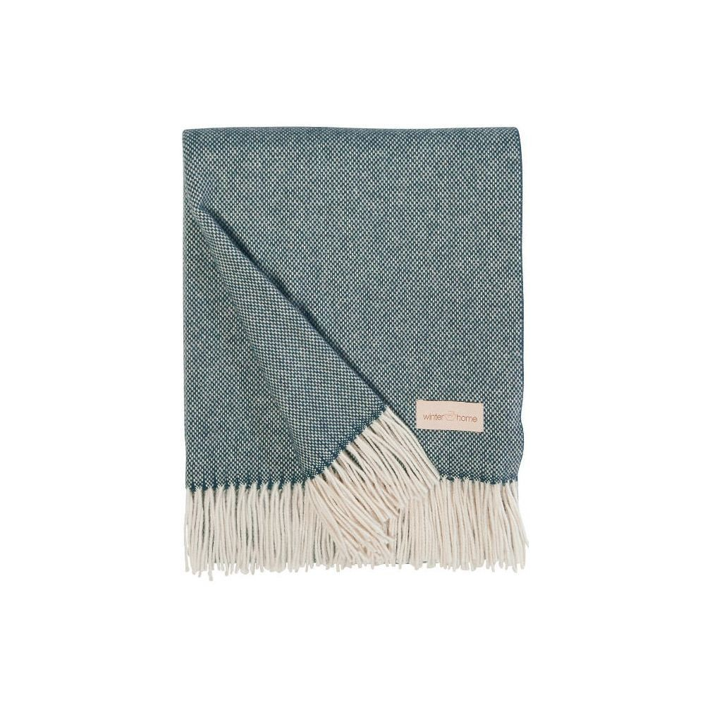 Winter Home Plaid Grace Cashmere Throw