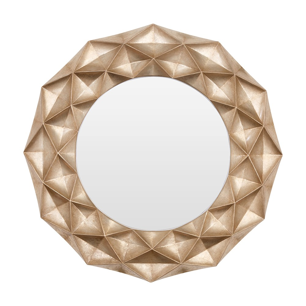 Houseology Collection Hexagonal Mirror