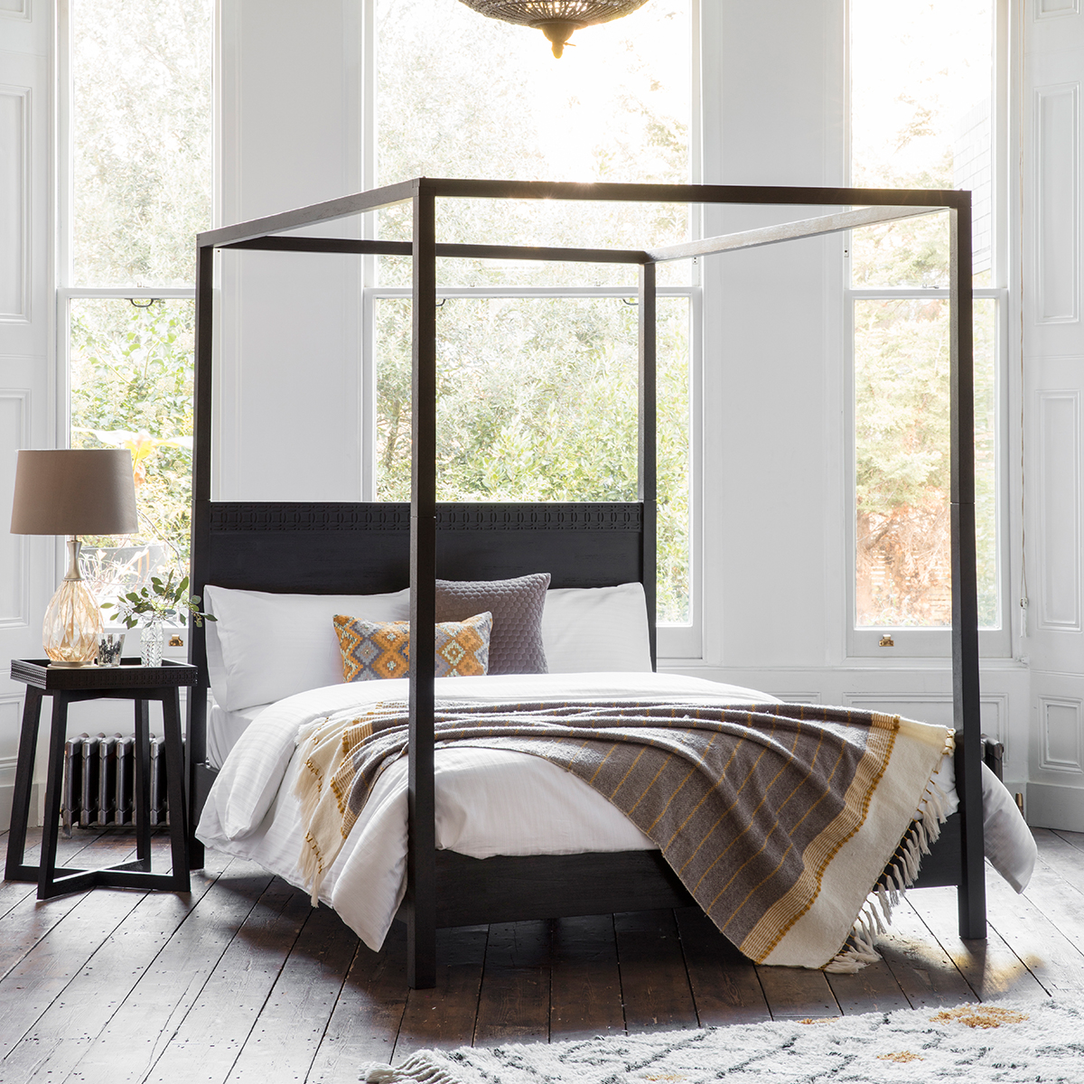 Houseology Collection Safari Boutique 4 Poster Bed