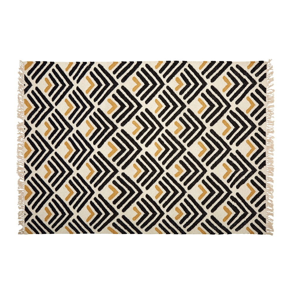 Large Dart Woven Rug