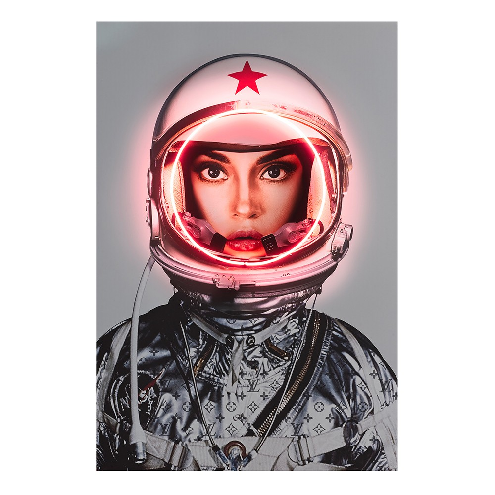 Andrew Martin Space Girl Wall Art