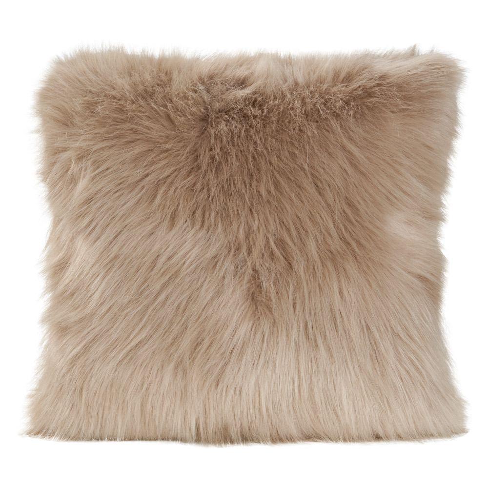 Winter Home Prairie Wolf Cushion