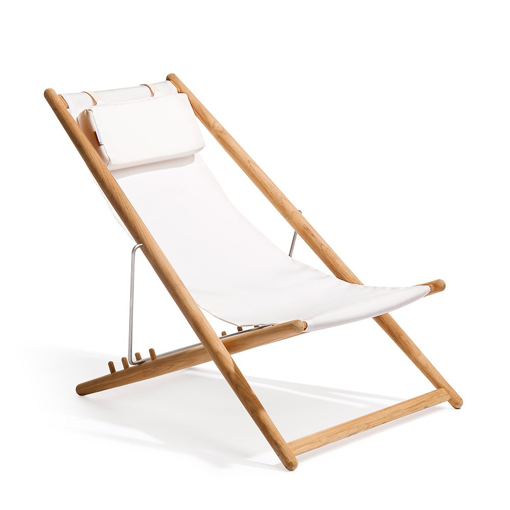 H55 CHair White Sunbrella